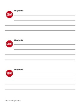 Chapter End Stop Signs