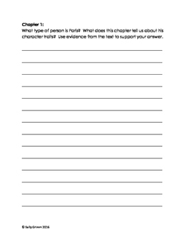 Chapter Journal Prompts for Black Ships Before Troy (Common Core Exemplar Text)