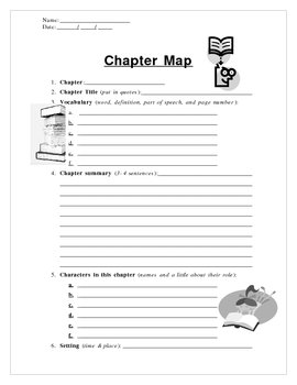 Chapter Map for Novels