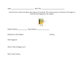 Chapter Notes Worksheet