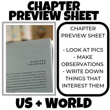 Chapter Preview Sheet