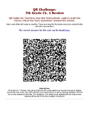 Using Energy and Heat Chapter QR Code Review