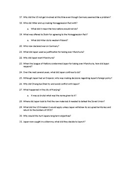 Chapter Questions CH 12, LESSON 1 McGraw Hill IMPACT: The Modern World