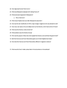 Chapter Questions CH 4, LESSON 2 McGraw Hill IMPACT: The Modern World