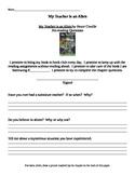 Chapter Questions - My teacher is an Alien - Bruce Coville
