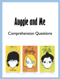 "Chapter Questions for ""Auggie and Me"""