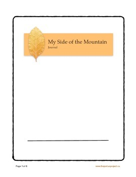 Chapter Questions for My Side of the Mountain