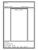 Chapter Review / Simple Book Review Forms (Summary)