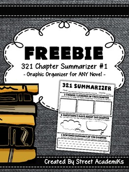 {FREE} 321 Chapter Summarizer #1