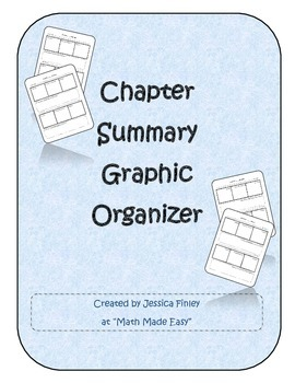 Chapter Summary Graphic Organizer