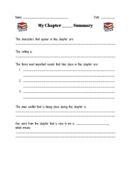 Chapter Summary Guide