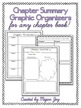 Chapter Summary Organizers