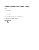 Chapter Summary Outline