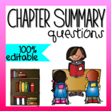 Chapter Summary Questions (for ANY book!)