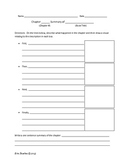 Chapter Summary Worksheet Printable