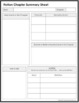 Chapter Summary Worksheets (Fiction and Non-Fiction)
