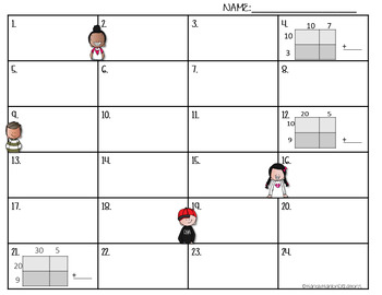 Go Math 4th Grade Chapter 3 Multiplication Review Game