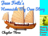 Chapter Three Lesson Plan for Teaching Jean Fritz's Homesi