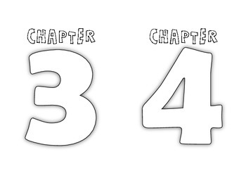 Chapter Title Pages for Interactive Student Notebook