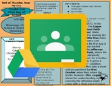 Chapter or Novel Review with Graphic Organizer (Digital)