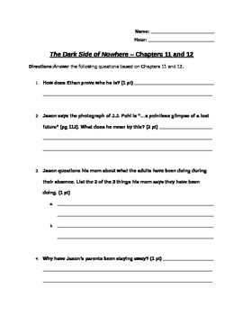 Chapters 11 and 12
