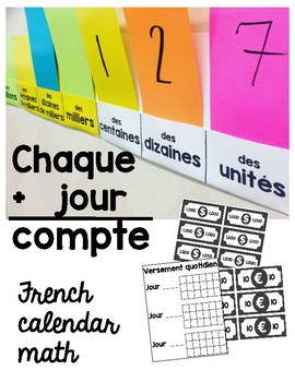 Chaque jour compte - French calendar math