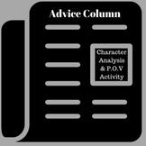 Character Advice Column