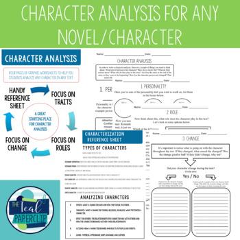 Character Analysis {ANY CHARACTER/ANY NOVEL}