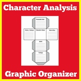 Character Analysis   Character Traits Graphic Organizer