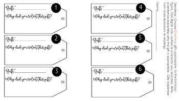 Holiday Bundle (Historical Figure/Character Analysis Activity)