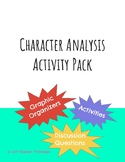 Character Analysis Activity Pack