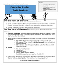 Character Analysis Baseball Cards