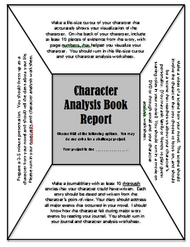 book report character analysis Life of pi by yann martel-character analysis-summary-free online chapter book notes plot summary synopsis study guide essay book report.