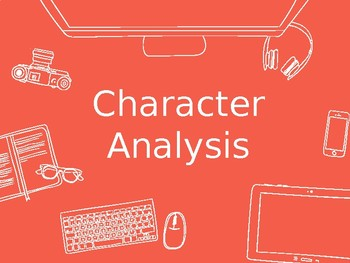 Character Analysis Book Talk