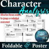 Character --Literary Analysis Foldable + Poster