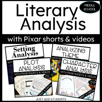 Character Analysis Booklet --  use with any novel, short s