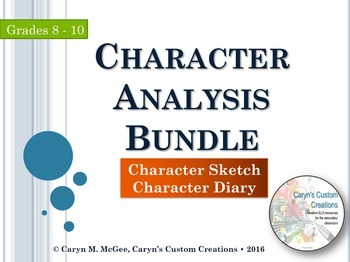 Character Analysis (Bundle)