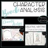 Character Analysis Bundle Literary Analysis and Writing