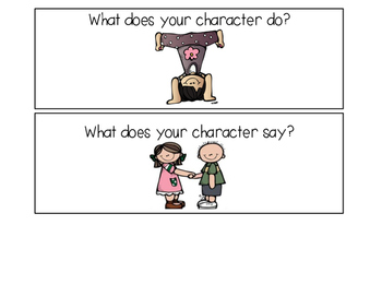 Character Analysis Cards