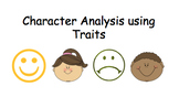 Character Analysis/ Character Traits Powerpoint
