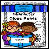 Character Analysis Close Read for Amos and Boris {Character Series Week 3}