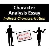 Character Analysis Essay: Indirect Characterization