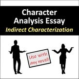 Character Analysis Essay: Indirect Characterization