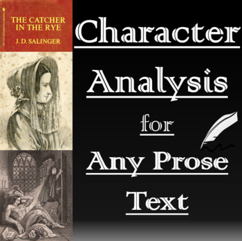 Character Analysis Essay for Any Text