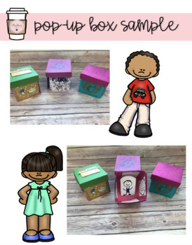 """Character Analysis """"Exploding"""" Pop-up Box Project"""