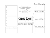 Character Analysis for Cassie in Roll of Thunder, Hear My Cry