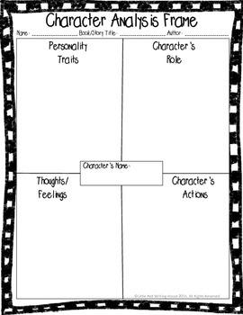 Character Analysis Frame