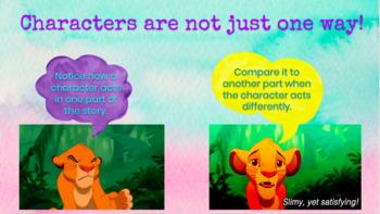Character Analysis Google Slides (The Empty Pot)