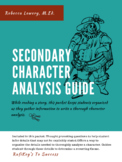 Secondary Character Analysis Graphic Organizer & Guide