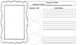 Character Analysis Graphic Organizer RL 3